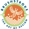 brushstroke bee logo 9 1 100